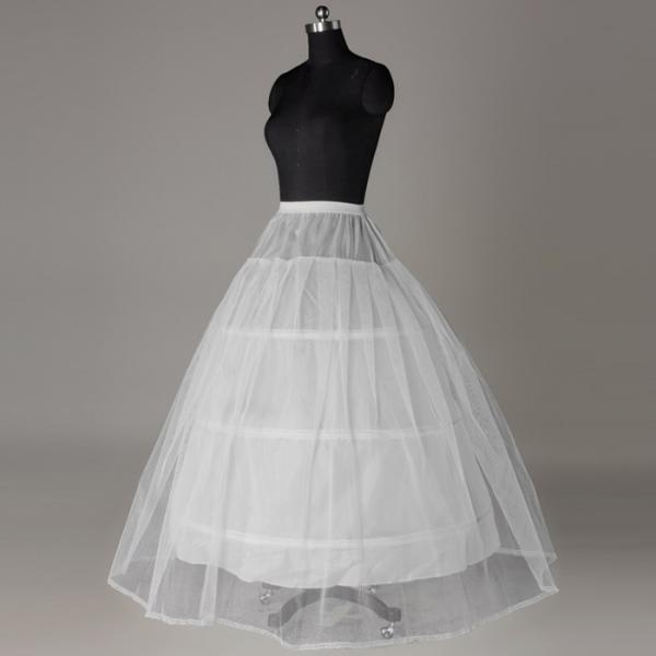 Underskirt With Ruffles For Wedding Dress Bridal Gown Petticoat