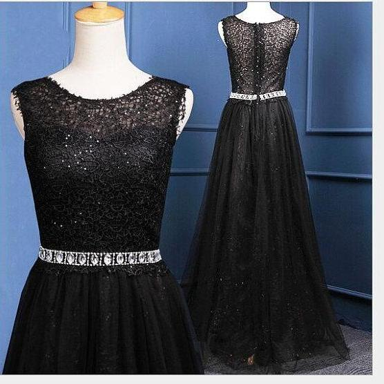 Boat neck long boat neck a line floor length prom dresses,lace beaded evening dress,formal party dress for weddings,bridal dress long